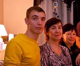Валентина с сыном Виктором