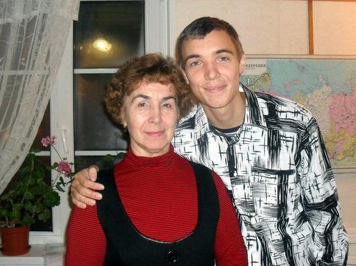 Валентина и ее сын Виктор