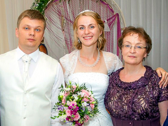 Наталья и ее сын Антон